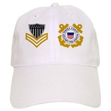 USCG-Rank-PO1-Mug-Pin Baseball Cap