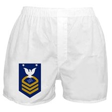 USCG-Rank-ETCM-Crow Boxer Shorts