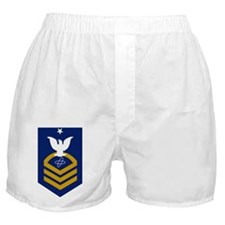 USCG-Rank-ETCS-Crow Boxer Shorts