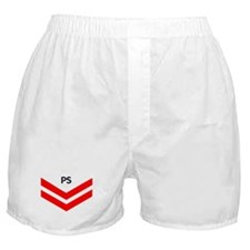 USCG-Rank-PS2-Reserve-PNG Boxer Shorts