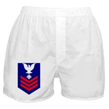 USCG-Rank-FI1 Boxer Shorts