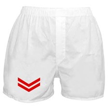USCG-Rank-FI2-Crow-PNG Boxer Shorts