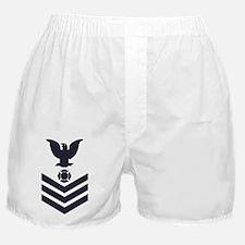 USCG-Rank-FI1-Blue-Crow-PNG Boxer Shorts
