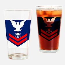 USCG-Rank-IV2 Drinking Glass