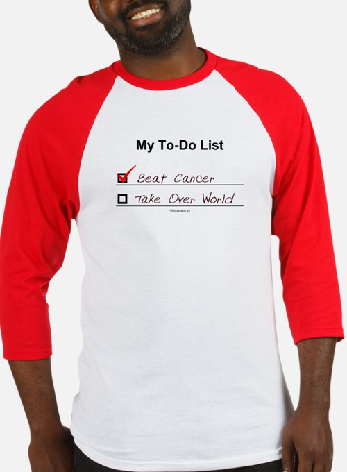 My To-Do List Baseball Jersey