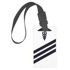 USCG-Rank-SNHS-Blue-Image-PNG Luggage Tag