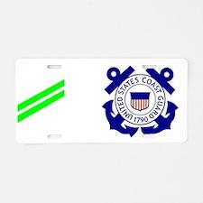 USCG-Rank-AA-Mug-Whites Aluminum License Plate