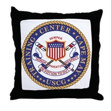 USCG-TraCen-Cape-May Throw Pillow