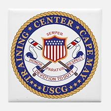 USCG-TraCen-Cape-May Tile Coaster