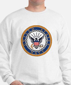 Navy-Emblem Jumper