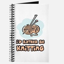 I'd Rather Be Knitting Journal