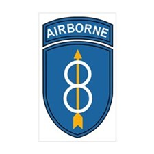 Army-8th-Infantry-Div-Airborne Decal