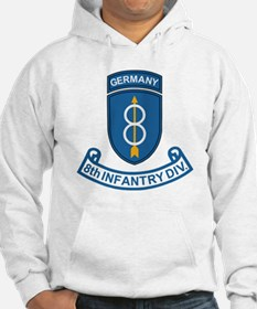 Army-8th-Infantry-Div-Germany-Sc Hoodie