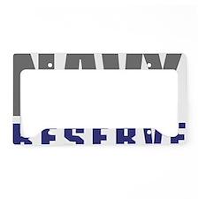 USNR-Navy-Reserve-Text License Plate Holder