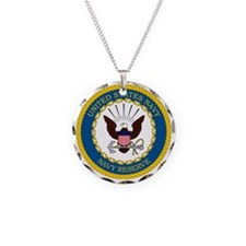 USNR-Navy-Reserve-Emblem Necklace