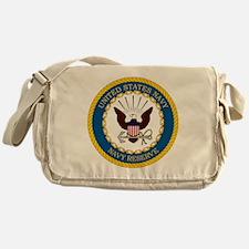 USNR-Navy-Reserve-Emblem Messenger Bag