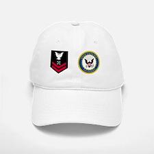 USNR-Rank-BM2-Mug Baseball Baseball Cap