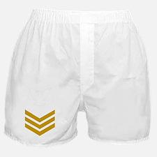 Navy-Rank-PO1-Gold-PNG Boxer Shorts