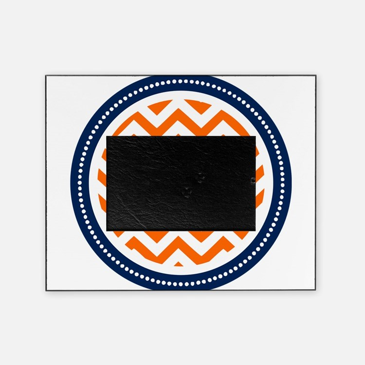 Orange & Navy Picture Frame