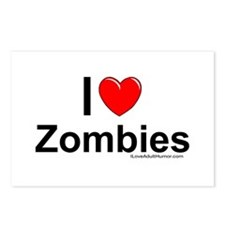Zombies Postcards (Package of 8)