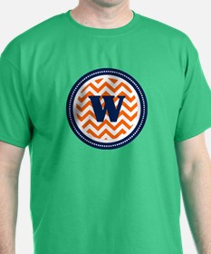 Orange & Navy T-Shirt