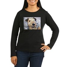 Airedale terrier first snow T-Shirt
