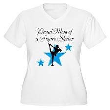 #1 SKATER MOM T-Shirt