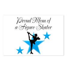 #1 SKATER MOM Postcards (Package of 8)