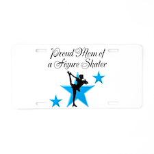 #1 SKATER MOM Aluminum License Plate