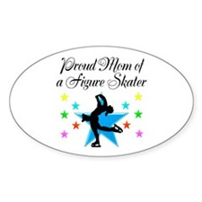 TOP SKATING MOM Decal