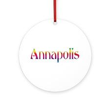 Annapolis Ornament (Round)