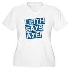 Leith says aye T-Shirt