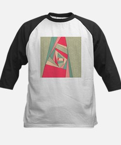 Colorful Layers Collage Baseball Jersey