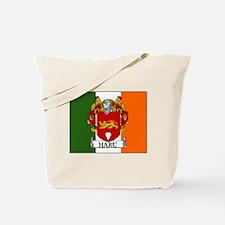 Hart Coat of Arms Irish Flag Tote Bag