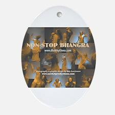 BHANGRA Oval Ornament