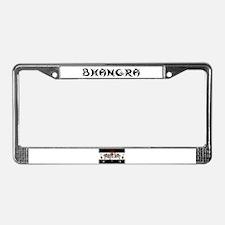 BHANGRA License Plate Frame
