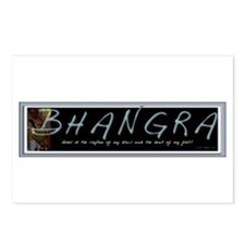 BHANGRA Postcards (Package of 8)