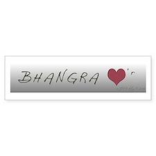 BHANGRA Bumper Bumper Sticker