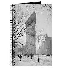 Flatiron Building in Winter Journal