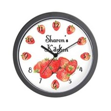 Sharon's Kitchen Wall Clock