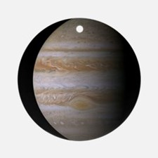 Jupiter Cassini Orn... Round Ornament