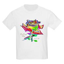 Unique Flowers color T-Shirt