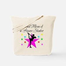 SKATING CHAMP MOM Tote Bag