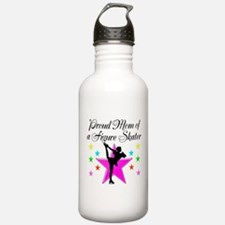 SKATING CHAMP MOM Water Bottle