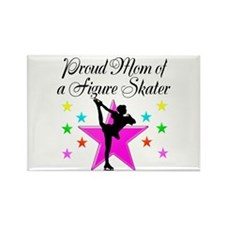 SKATING CHAMP MOM Rectangle Magnet (10 pack)