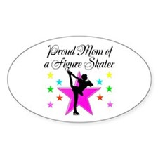 SKATING CHAMP MOM Decal