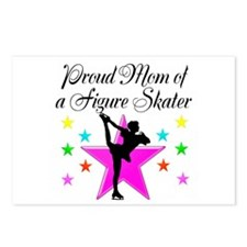 SKATING CHAMP MOM Postcards (Package of 8)