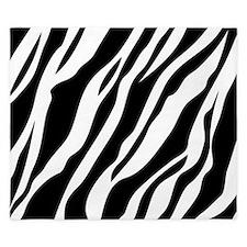 Zebra Print King Duvet