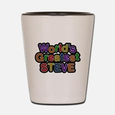 Worlds Greatest Steve Shot Glass