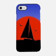 Sailboat at Sunset iPhone 7 Tough Case